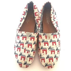 Toms   Classic Democratic Donkey Loafers